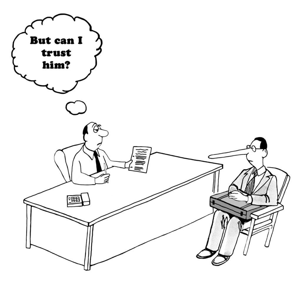 confiance et vente