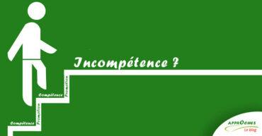 LES INCOMPETENCES INCONSCIENTES